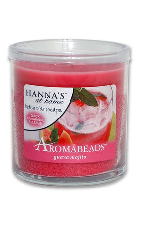 Aromabeads Guava Mojito Scented Tumbler Candle - Candlemart.com
