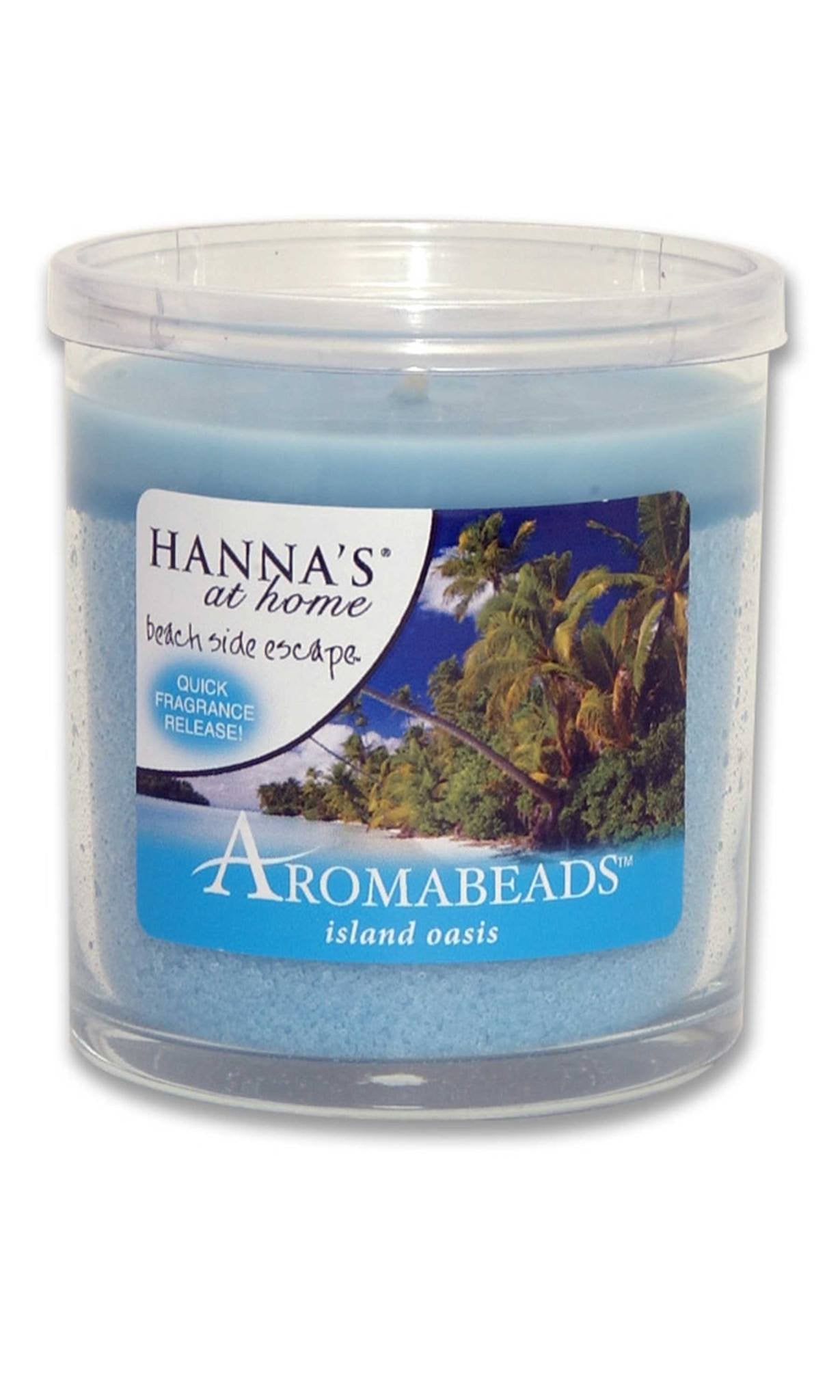 Aromabeads Island Oasis Scented Tumbler Candle - Candlemart.com