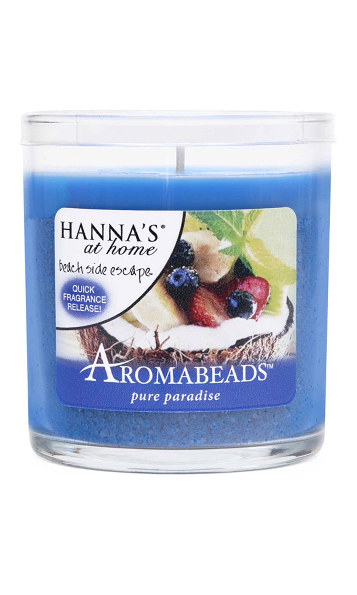 Aromabeads Pure Paradise Scented Candle - Candlemart.com