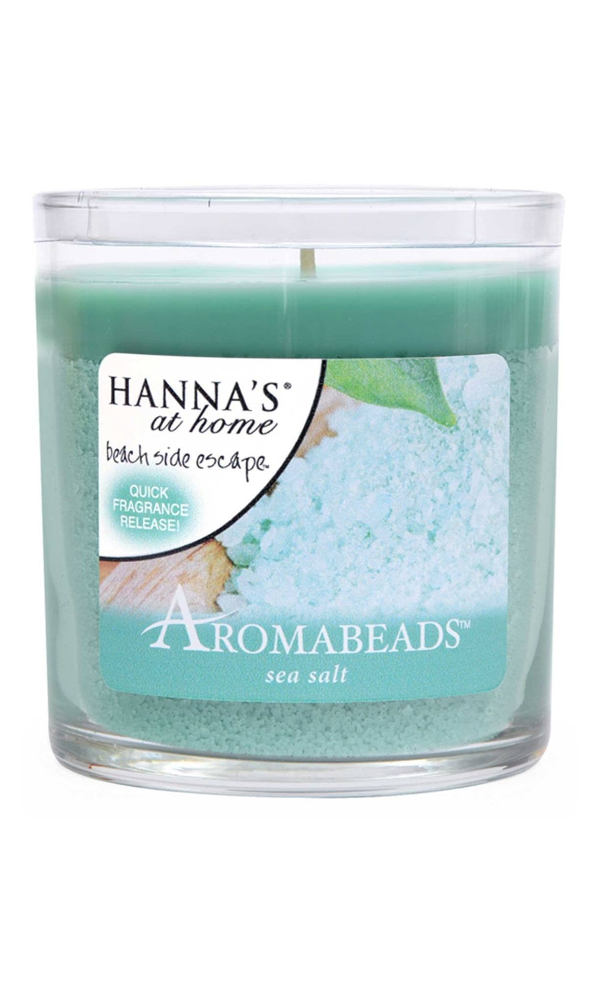 Aromabeads Sea Salt Scented Tumbler Candle - Candlemart.com