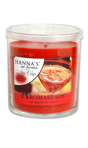 Aromabeads Red Appletini Royal Scented Tumbler Candle - Candlemart.com