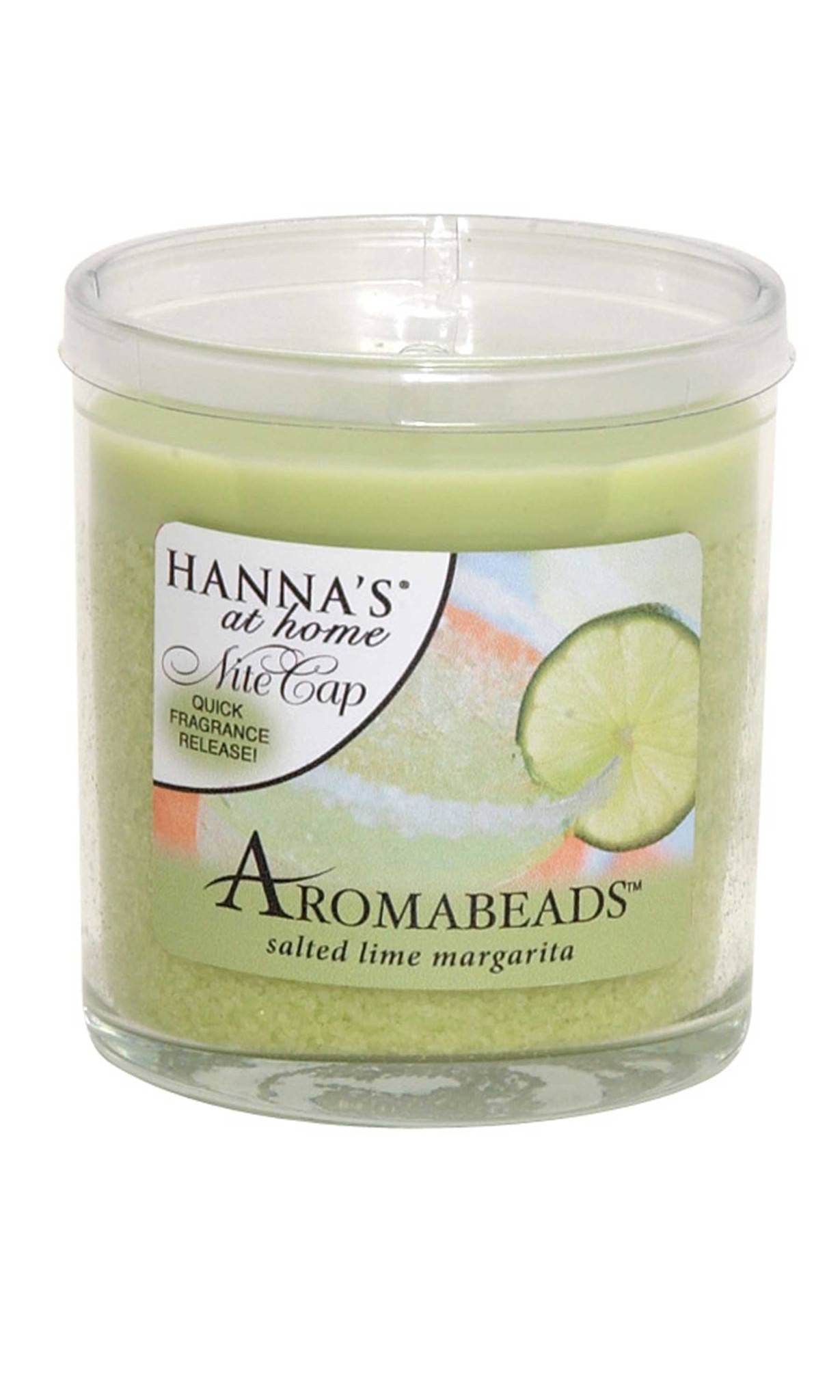 Aromabeads Salted Lime Margarita Scented Candle - Candlemart.com