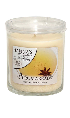 Aromabeads Vanilla Creme Cosmo Scented Tumbler Candle - Candlemart.com