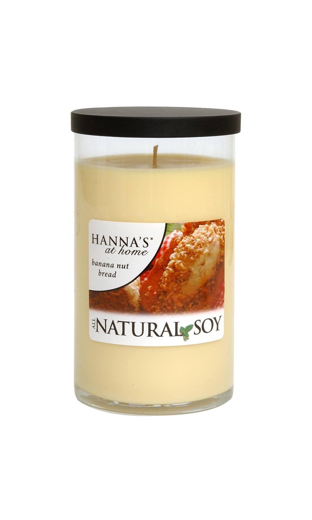 Natural Soy Banana Nut Bread Scented Soy Candle - Candlemart.com - 1
