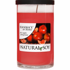 Natural Soy Juicy Apple Pomegranate Scented Soy Candle - Candlemart.com