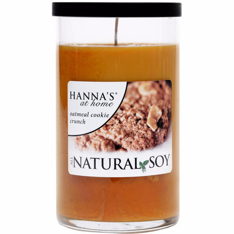 Natural Soy Oatmeal Cookie Crunch Scented Soy Candle - Candlemart.com - 1