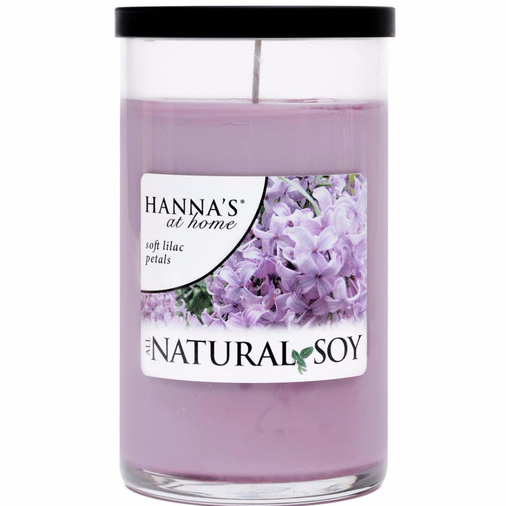 Natural Soy Soft Lilac Petals Scented Soy Candle - Candlemart.com
