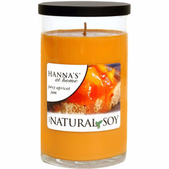 Natural Soy Juicy Apricot Jam Scented Soy Candle - Candlemart.com - 1