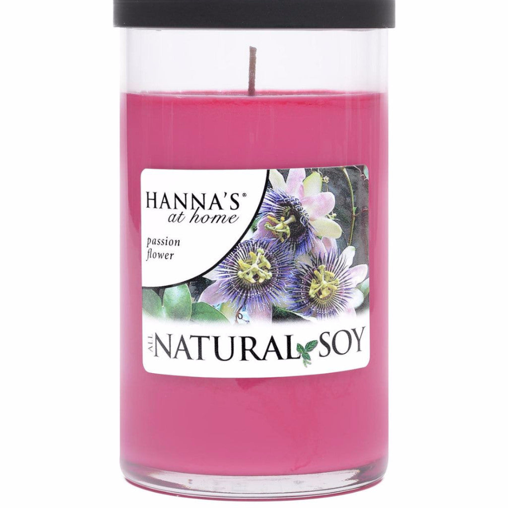 Natural Soy Passion Flower Scented Soy Candle - Candlemart.com