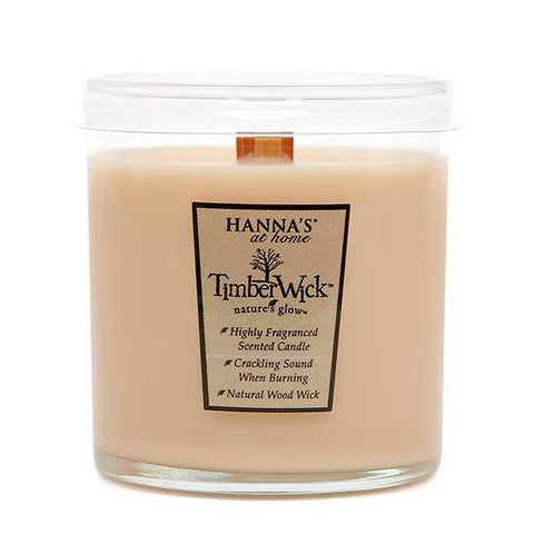 Timberwick Vanilla Brulee Scented Wax Tumbler Candle - Candlemart.com