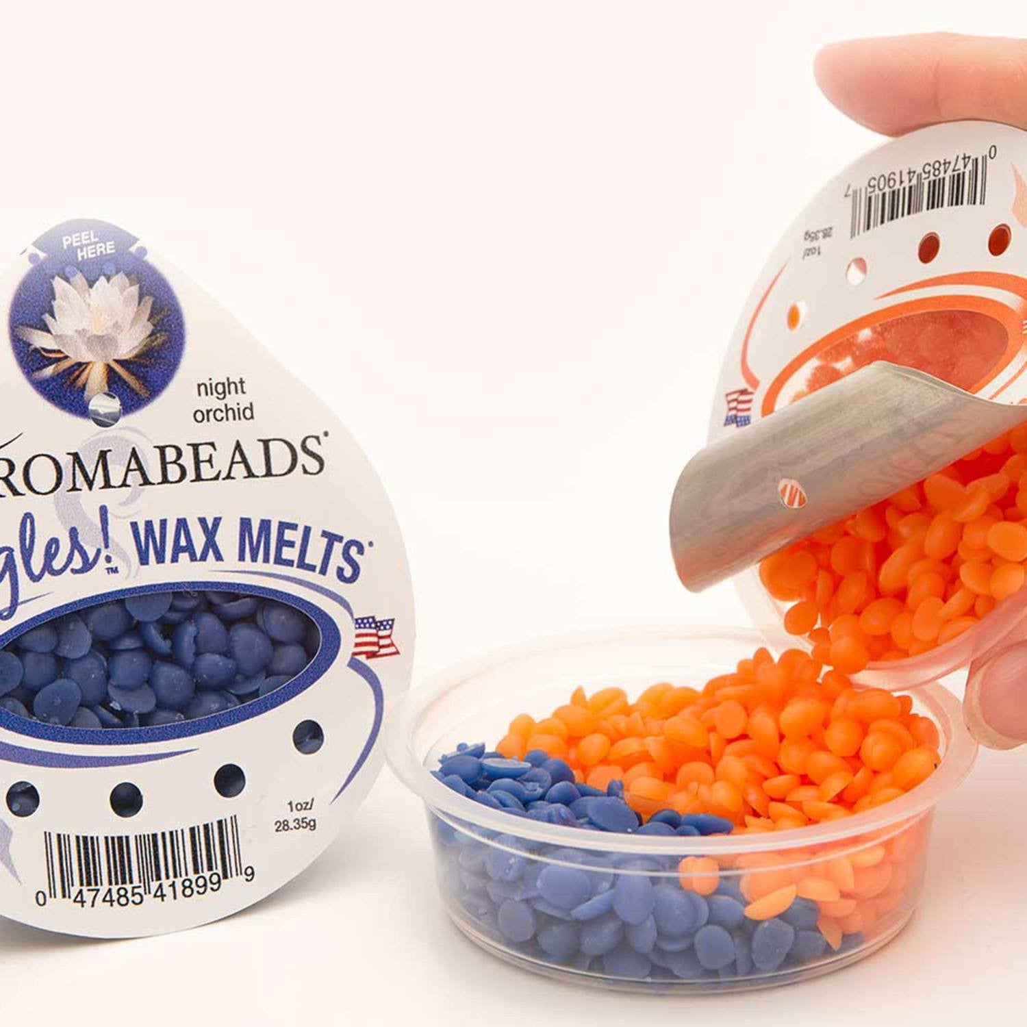 Aromabeads Singles Warm Butter Cookie Scented Wax Melts - Candlemart.com - 7