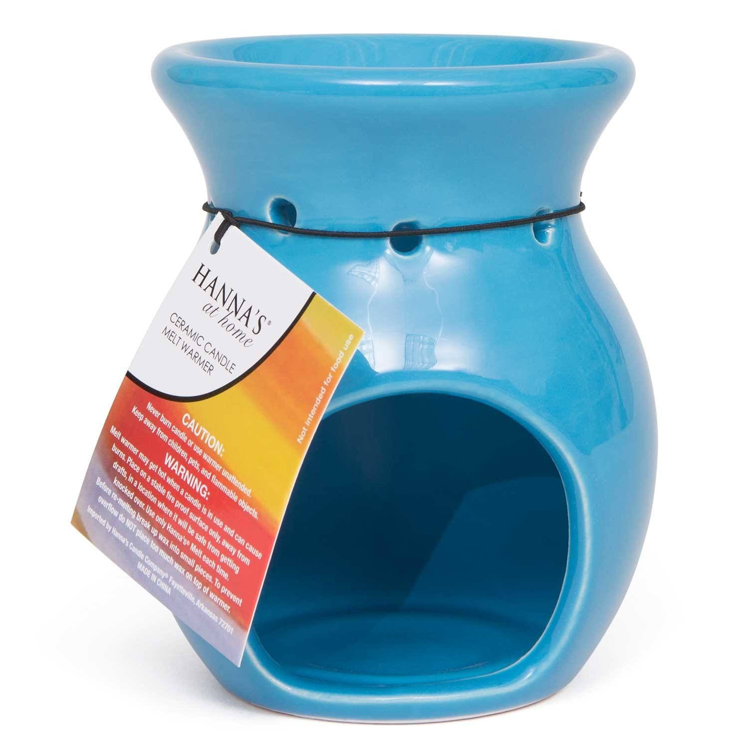 Blue Curve Ceramic Tealight Melt Warmer - Candlemart.com