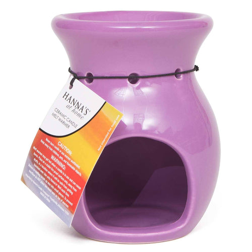 Purple Curve Ceramic Tealight Melt Warmer - Candlemart.com
