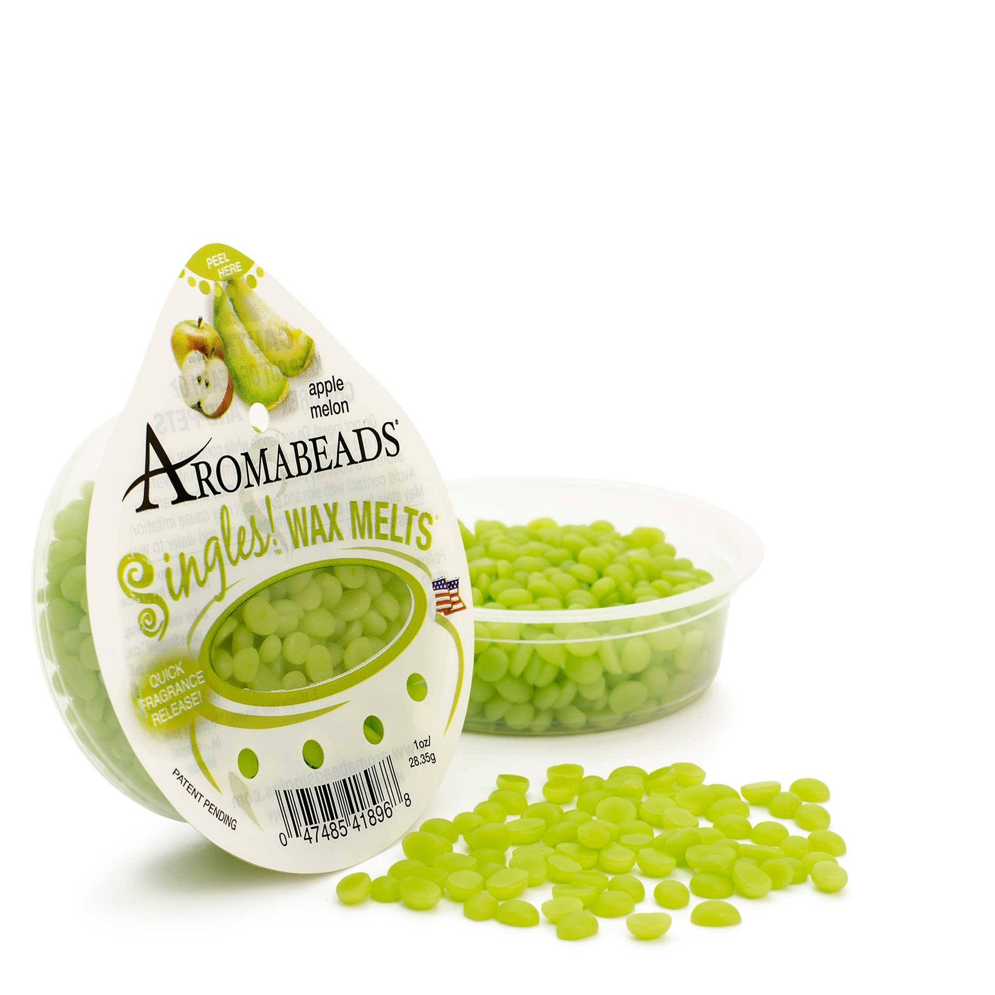 Aromabeads Singles Apple Melon Scented Wax Melts - Candlemart.com - 1