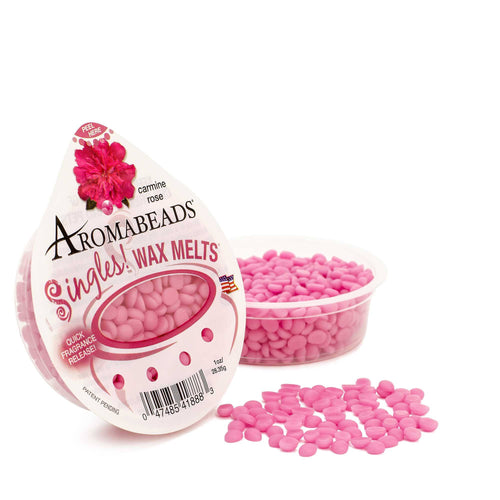 Aromabeads Singles Carmine Rose Scented Wax Melts - Candlemart.com