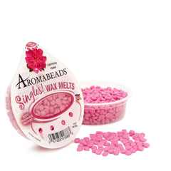 Aromabeads Singles Carmine Rose Scented Wax Melts - Candlemart.com - 1