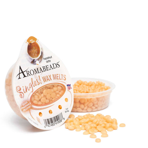 Aromabeads Singles Hazelnut Latte Scented Wax Melts - Candlemart.com