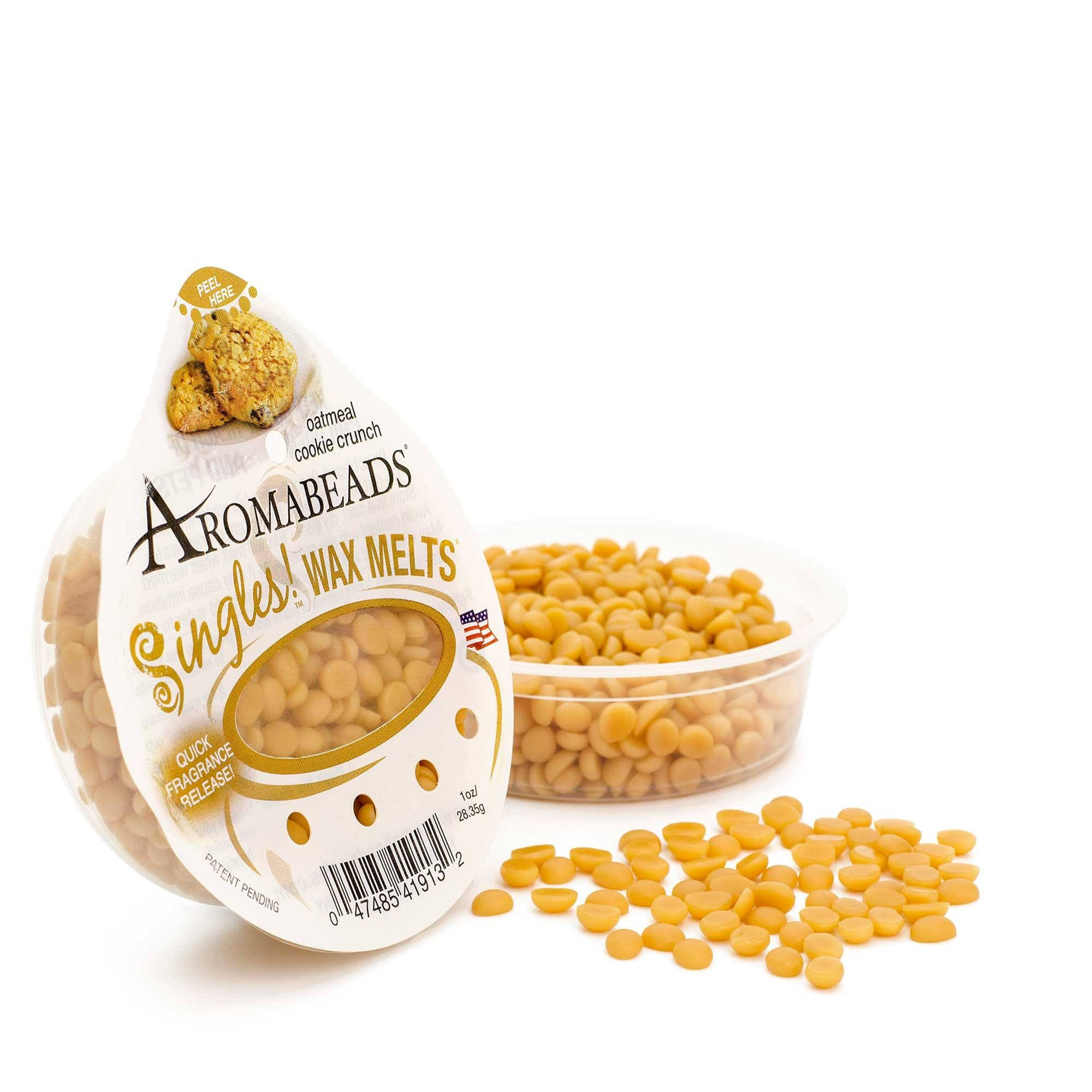 Aromabeads Singles Oatmeal Cookie Crunch Scented Wax Melts - Candlemart.com - 1