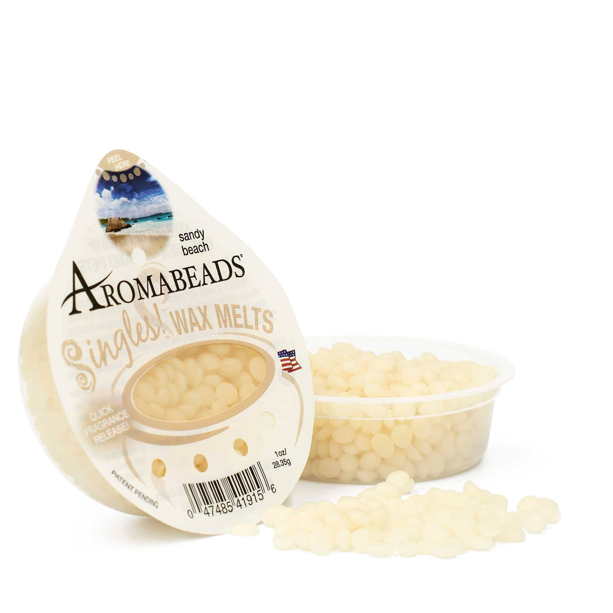 Aromabeads Singles Sandy Beach Scented Wax Melts - Candlemart.com - 1