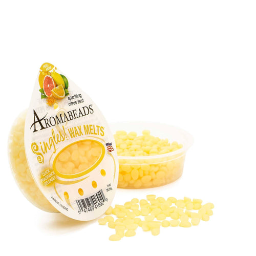 Aromabeads Singles Sparkling Citrus Zest Wax Melts 10 Pack - Candlemart.com