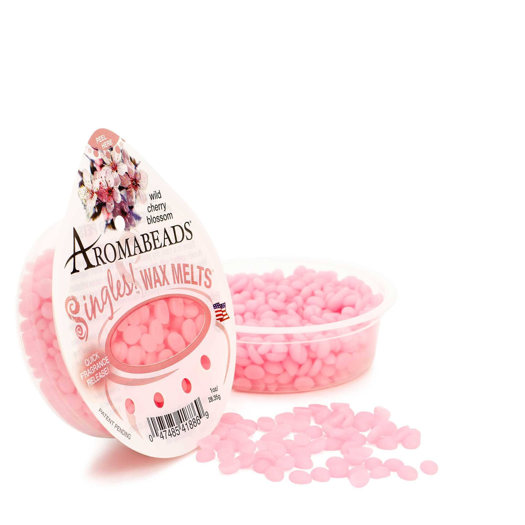 Aromabeads Singles Wild Cherry Blossom Scented Wax Melts - Candlemart.com - 1
