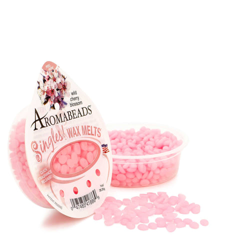 Aromabeads Singles Wild Cherry Blossom Scented Wax Melts - Candlemart.com