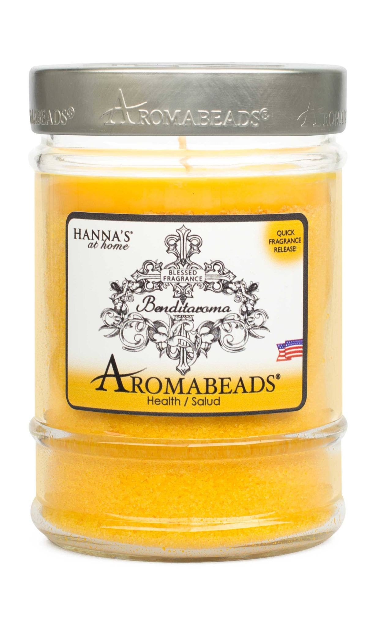 Benditaroma Aromabeads Health Scented Canister Candle - Candlemart.com