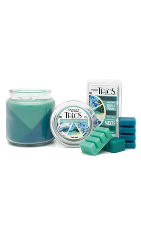 Trios Triple Pour Island Waves Scented Wax Melts Melts Candlemart.com $ 2.49