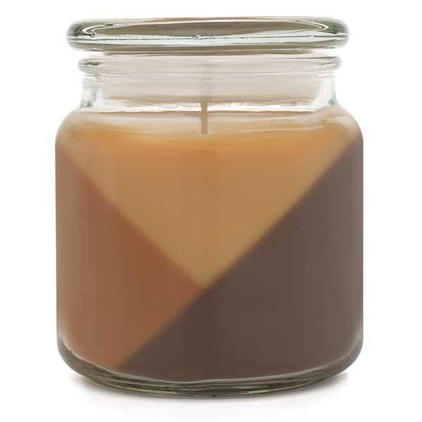 Trios Triple Pour Hazelnut Cream Scented Candle - Candlemart.com