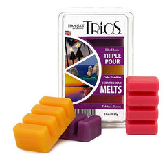 Trios Triple Pour Tahitian Sunset Scented Wax Melts - Candlemart.com