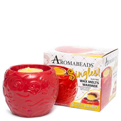 Aromabeads Singles Red Electric Melt Warmer - Candlemart.com - 1