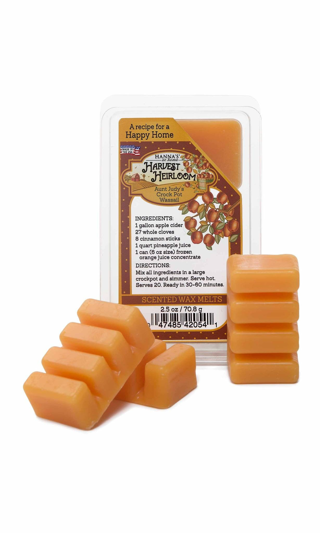 Harvest Heirloom Mulled Cider Scented Wax Melts - Candlemart.com