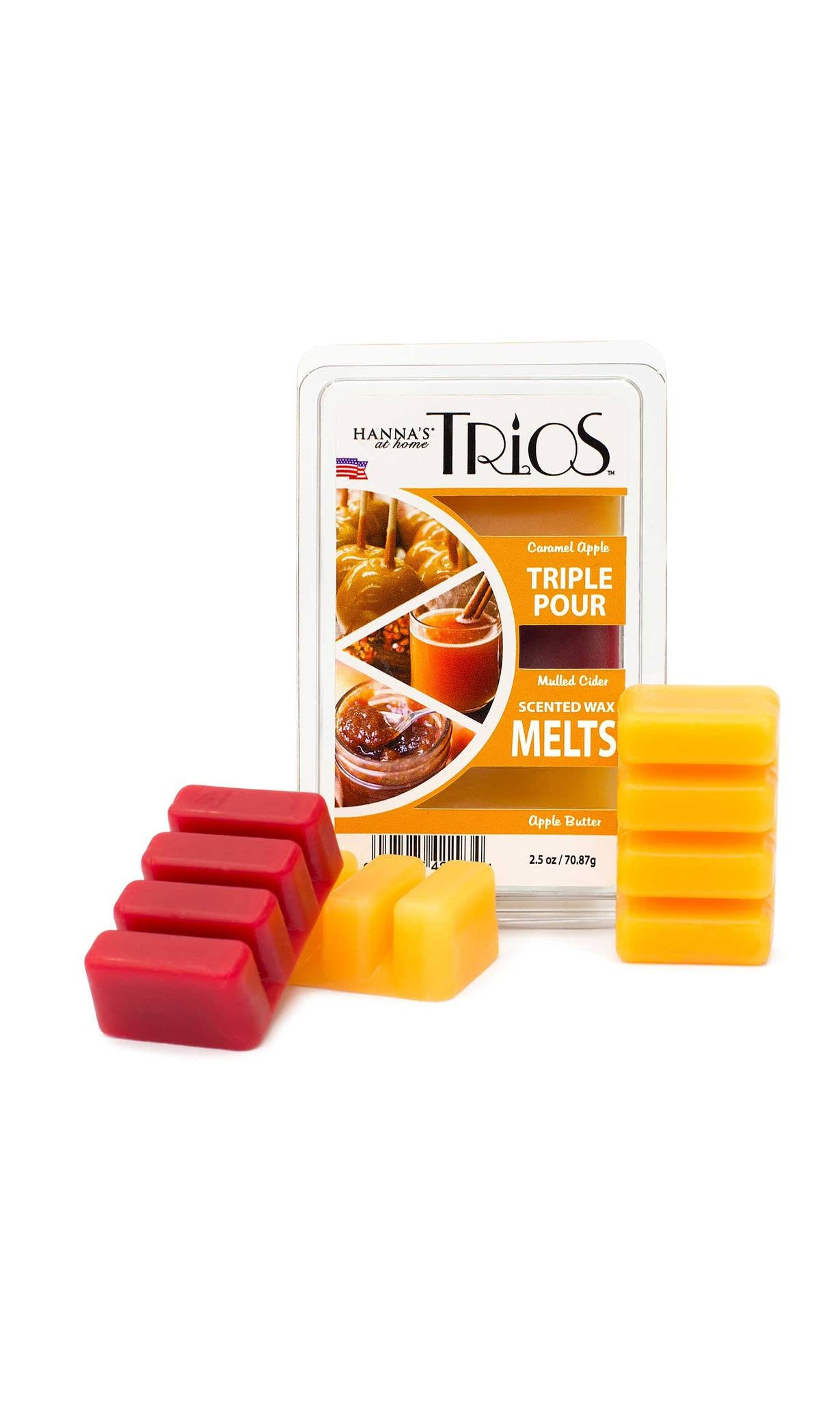 Candlemart.com Fall Trios Mulled Cider Scented Wax Melts Melts $ 2.49