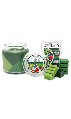 Holiday Trios Pine Scented Wax Melts Melts Candlemart.com $ 2.49