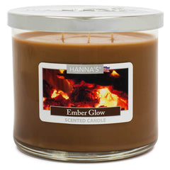 Ember Glow Scented Large 3 wick Candle Candles Candlemart.com $ 11.99