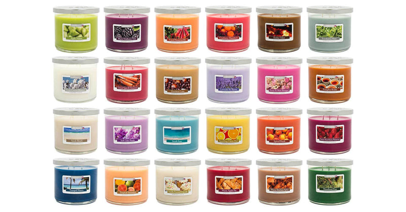 Sandy Beach Scented Large 3 wick Candle - Candlemart.com