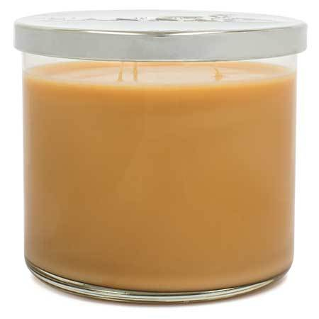 Hazelnut Latte Scented Large 3 wick Candle Candles Candlemart.com $ 11.99