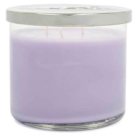 Lavender Thyme Scented Large 3 wick Candle