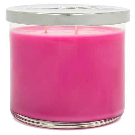Peony Rose Bouquet Scented Large 3 wick Candle - Candlemart.com