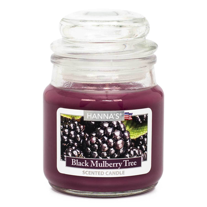 Black Mulberry Tree Scented Mini Candle - Candlemart.com