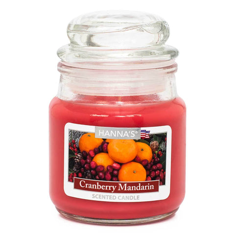 Cranberry Mandarin Scented Mini Candle - Candlemart.com