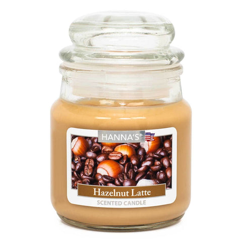 Hazelnut Latte Scented Mini Candle - Candlemart.com