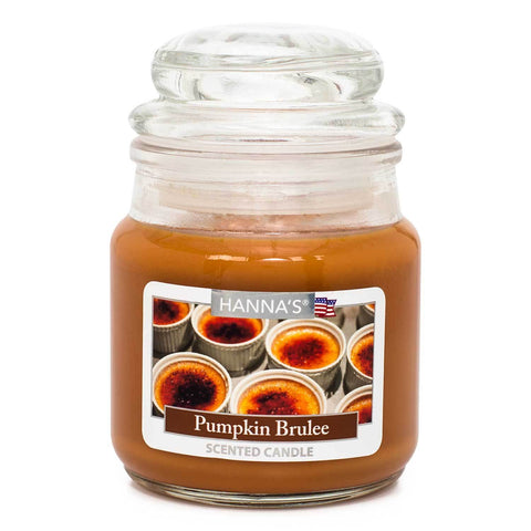 Pumpkin Brulee Scented Mini Candle - Candlemart.com