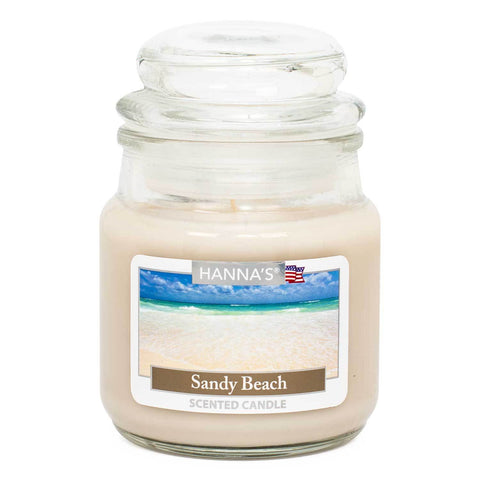 Sandy Beach Scented Mini Candle - Candlemart.com
