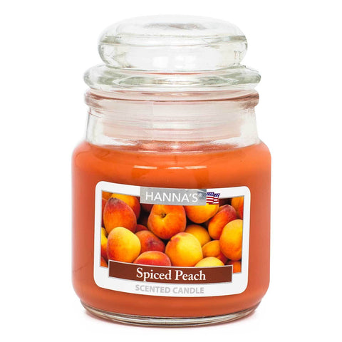 Spiced Peach Scented Mini Candle Candles Candlemart.com $ 2.99
