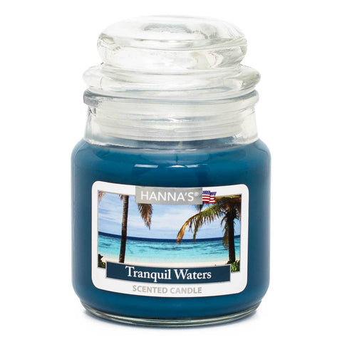 Tranquil Waters Scented Mini Candle - Candlemart.com