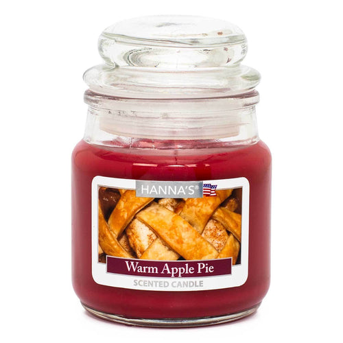 Warm Apple Pie Scented Mini Candle - Candlemart.com