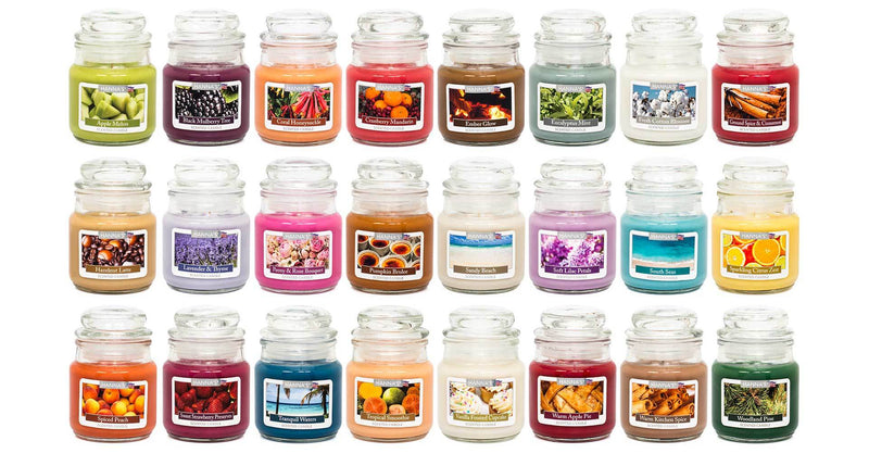 Ground Spice & Cinnamon Scented Mini Candle - Candlemart.com