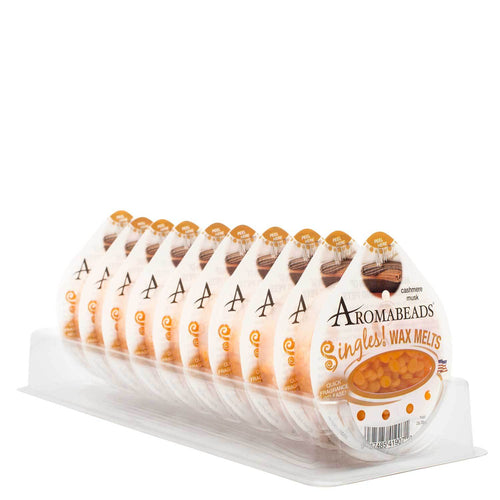 Aromabeads Singles Cashmere Musk Wax Melts 10 pack - Candlemart.com