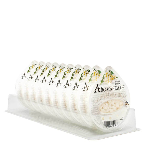 Aromabeads Singles Jasmine Breeze Wax Melts 10 Pack Melts Candlemart.com $ 11.49